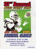 """Bob Sands Memorial Classic"" Bucks County Lions All Star Game Thursday June 6 -7PM @ Truman HS"