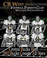 32nd Bucks County Lions All-Star Game JUNE 9, 2007 @ WAR MEMORIAL FIELD 7:00