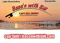 "Fishing on ""LAKE OKEECHOBEE"" with Bucks County native and fishing guide "" Captain Bill Nemec""."