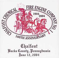 Chalfont Fire Co. 100th Anniversary Parade